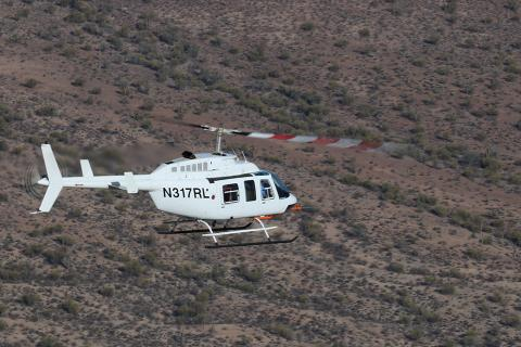 Van Horn Aviation Receives STC for Bell 206L Rotor Blades
